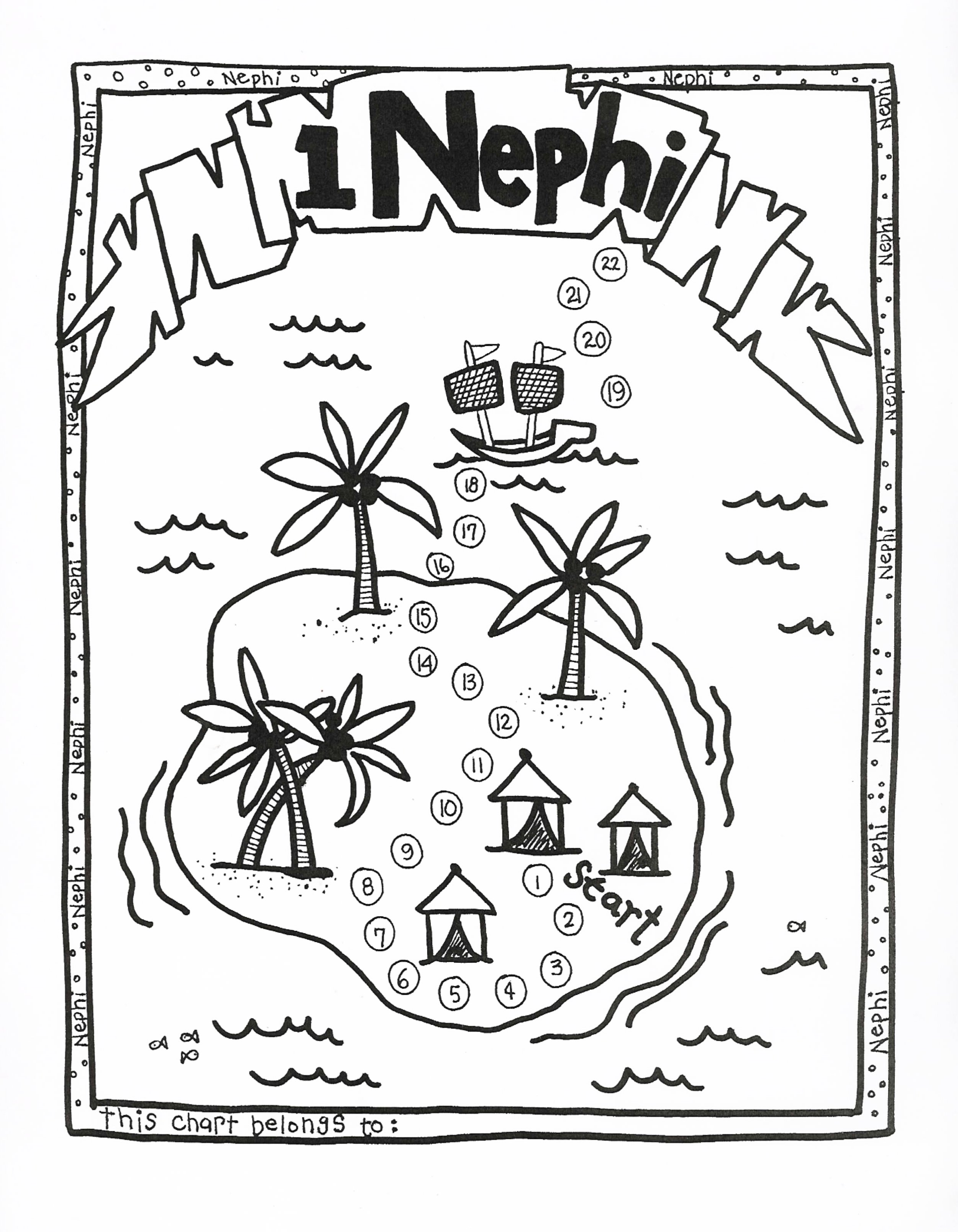 nephi coloring pages - photo#26