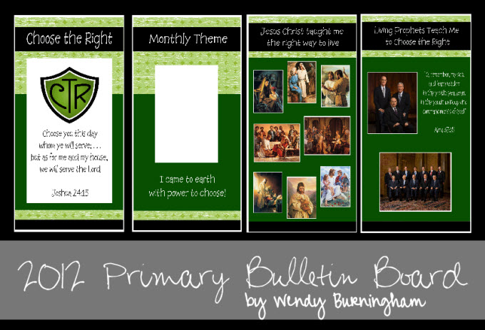bulletin board ideas for primary 2013 | just b.CAUSE