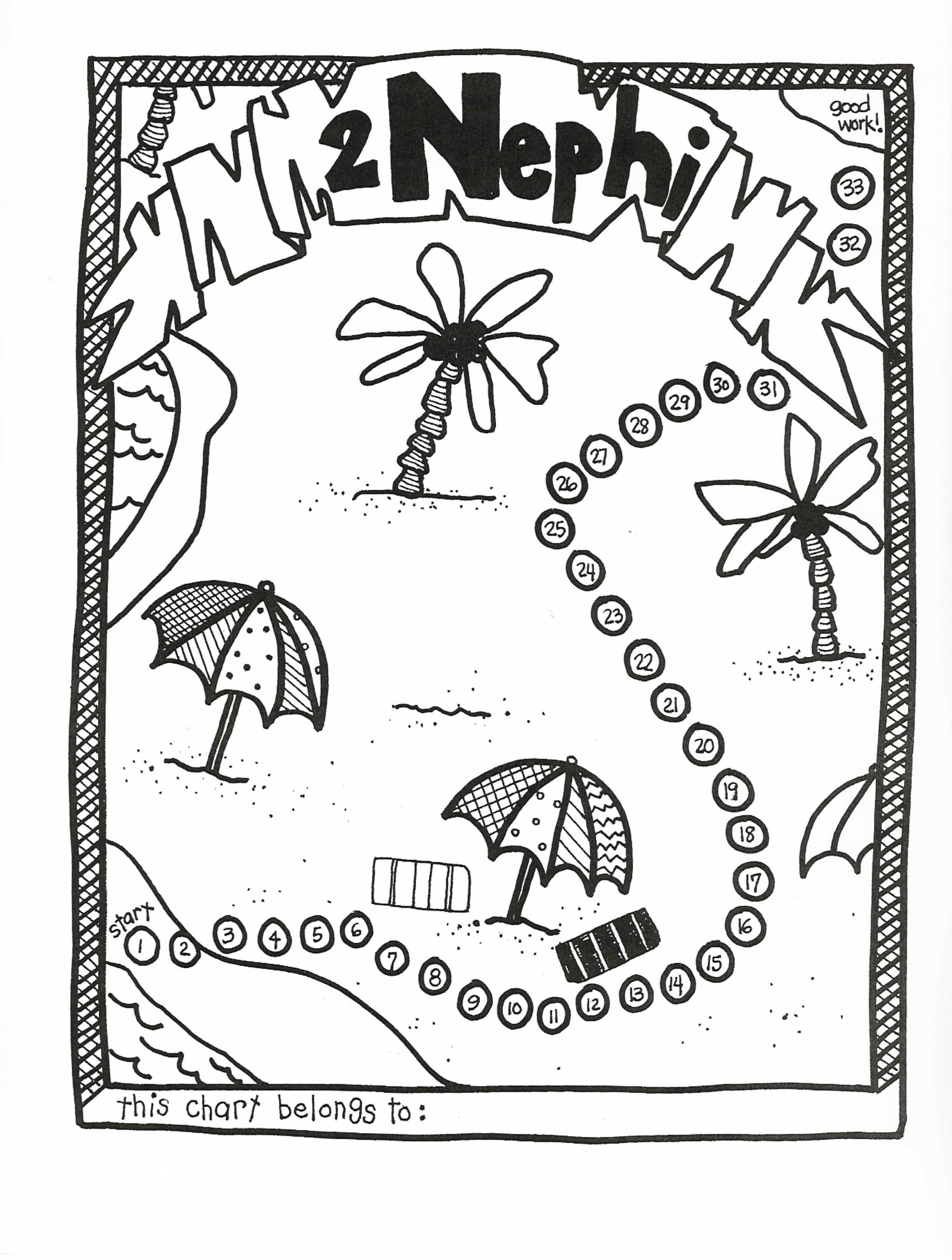 coloring pages nephi liahona - photo#21