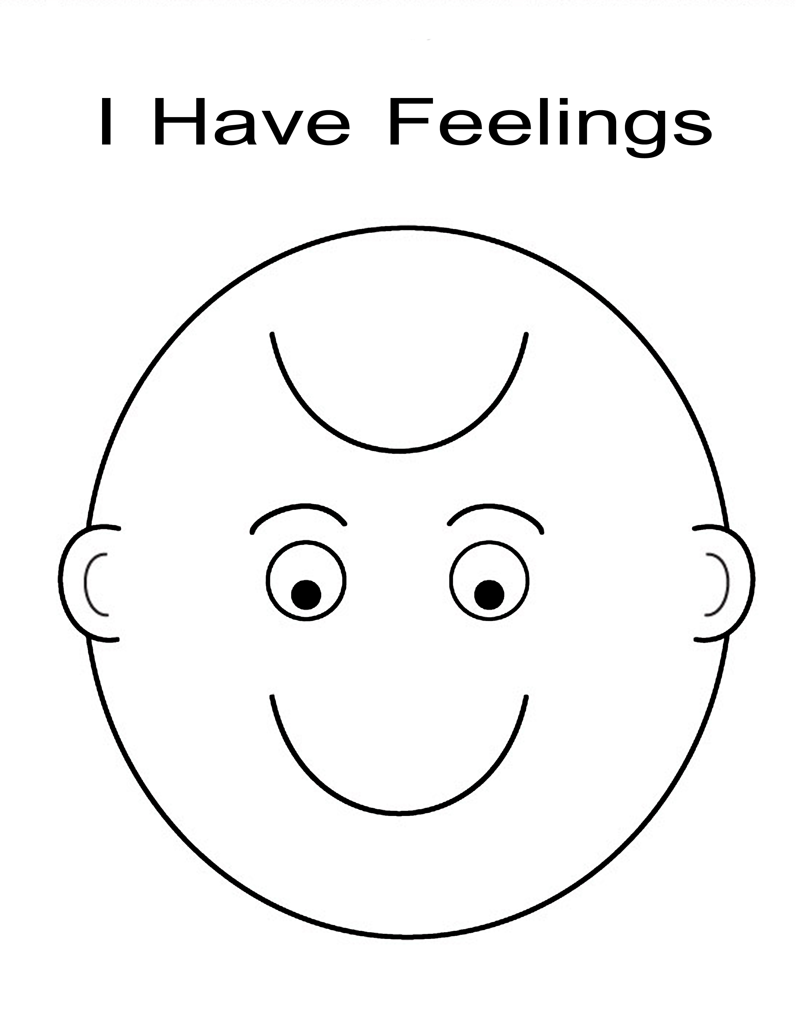 feeling face Colouring Pages (page 2)