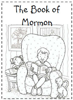 Book of Mormon Coloring Sheet