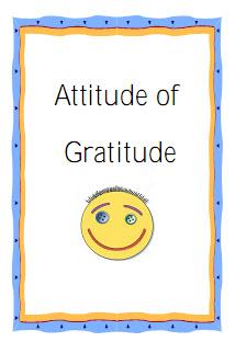 Gratitude Is Attitude Clip Art – Clipart Download