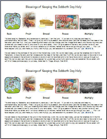 the sabbath essay
