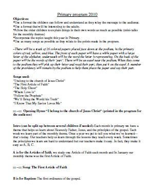Lds Christmas Sacrament Meeting Program Script | Party Invitations ...