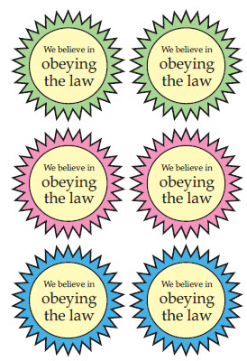 obeying the law But that no man is justified by the law in the sight of god, it is evident: for, the just shall live by faith (for not the hearers of the law are just before god.