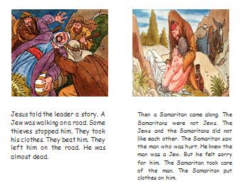 The Good Samaritan Story Book