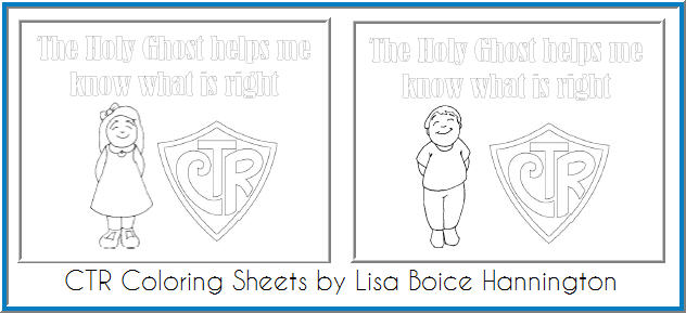 The Holy Ghost Helps Me (Coloring Sheets)