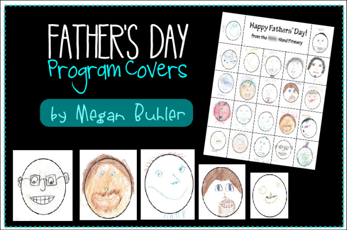 Father's Day program covers