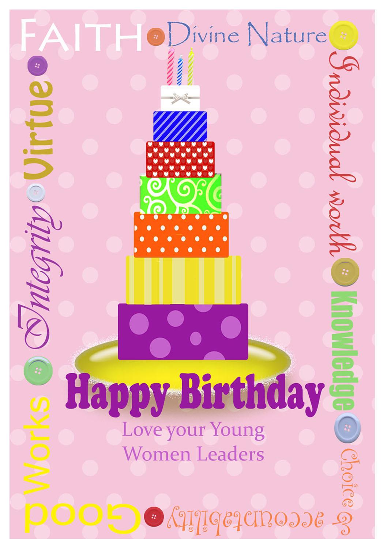 YW Birthday Card