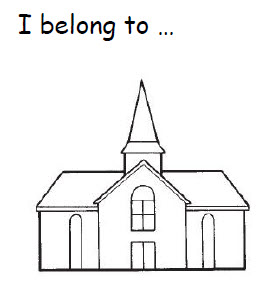 I belong to the church of Jesus Christ Flipchart