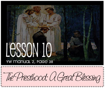 The Priesthood A Great Blessing
