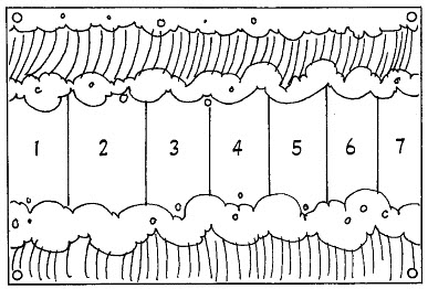 Moses Parting The Red Sea Coloring Page Eskayalitim - Crossing-the-red-sea-coloring-page
